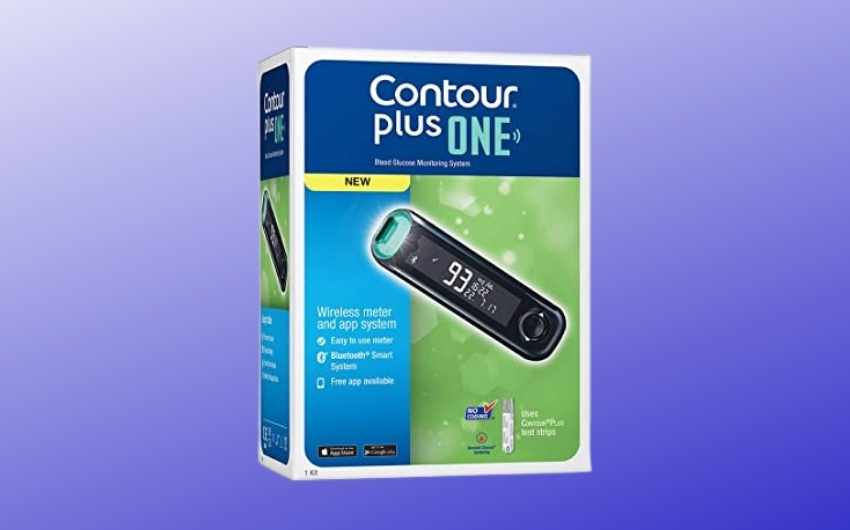 Contour Plus One Blood Glucose Monitoring System Glucometer
