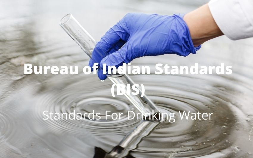 BIS Standards For Drinking Water