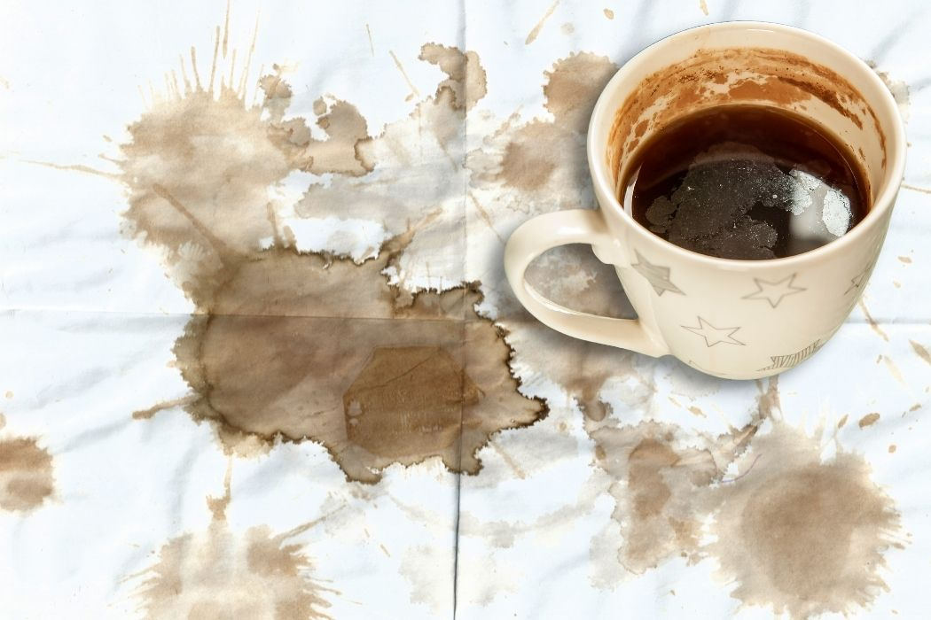 How to remove tea stains from clothes